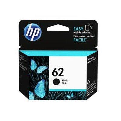 2 x originales HP 62 cartucho de tinta negro , , Para HP Envy 5640 impresoras con