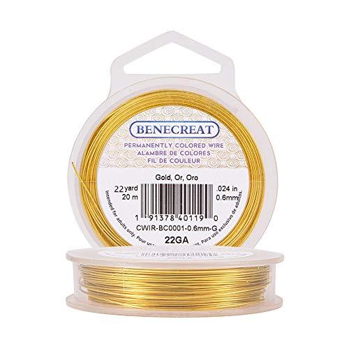 BENECREAT 20m Alambre Cobre Cable Metálico