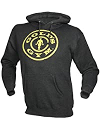 Golds Gym Distressed Plate Hoodie 80% Baumwolle 20% Polyester