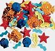 Amscan International Confetti Luau-Sea Life Hawaiian