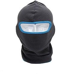 Magical Asso- Multifonctionnel Tour de Cou / Masque de Ski Cagoule de Protection Automne Hiver pour Moto Vélo Outdoor-Gris&Bleu