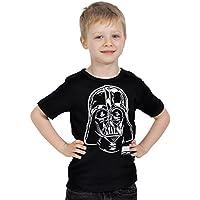 La Guerra de las Galaxias - Camiseta retrato de Darth Vader para niños - 158/164