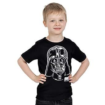 star wars t shirt enfant dark vador darth vader noir v tements et accessoires. Black Bedroom Furniture Sets. Home Design Ideas