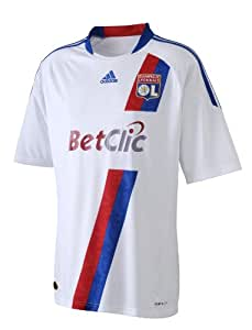 adidas Ol H Jsy OL Maillot domicile Football Homme Blanc S