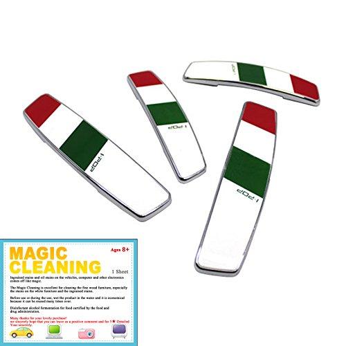 [Carex I Pop Flag Door Guard   Italy] 4pcs 1 Set / Anteriore