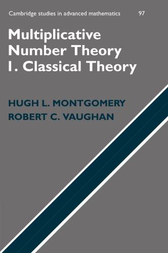 Multiplicative Number Theory I Paperback (Cambridge Studies in Advanced Mathematics)