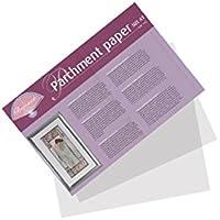 Pergamano UK - Papel pergamino (150g, 12 hojas), morado, A3