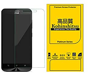 Kohinshitsu Platinum Series Screen Guard - Tempered Glass Screen Protector for Zenfone Max / Asus Zenfone Max / Asus Max Mobile Phone 2015 Model