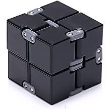 The Essentials Infinity Cube Fidget Spinner, Black
