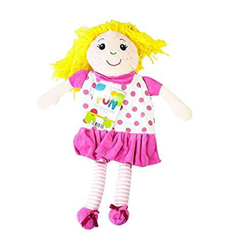 Kids Cute, Fun Novelty Rag Dolly Hot Water Bottle -1 Litre Capacity
