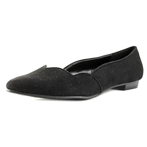 Ann Marino by Bettye Muller Scala Femmes Toile Chaussure Plate Black
