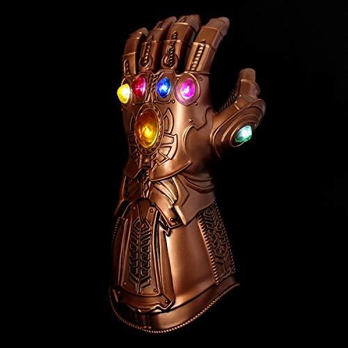 SEJNGF Avengers Mask Cosplay Hero Helm Halloween Infinity Handschuhe Latex - Für Erwachsene Avengers Thor Muskel Kostüm