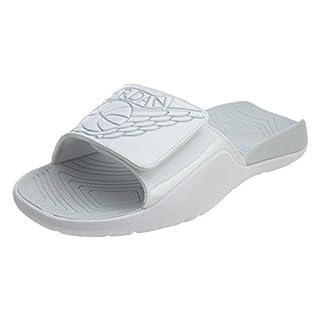 Grade School Jordan Hydro 7 BG White/Pure Platinum White Size: 4