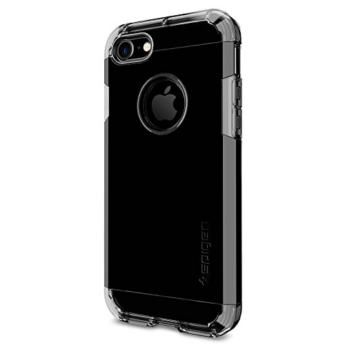 Coque iPhone 7, Spigen® [Tough Armor] HEAVY DUTY [Noir de jais] EXTREME Protection / Rugged but Slim Dual Layer Protective Coque Pour iPhone 7 (2016) ...