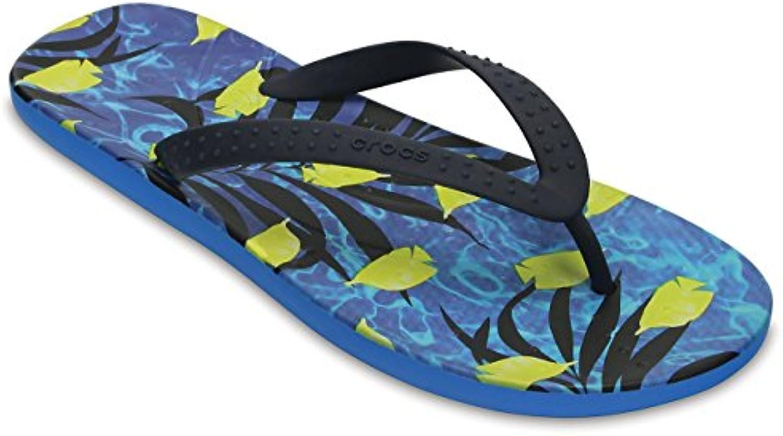 crocs Unisex Erwachsene Chawaii Fish Zehentrenner  Blau