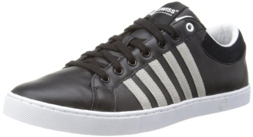 K-Swiss  ADCOURT '72 SO, Baskets pour homme Black/White/Pumice