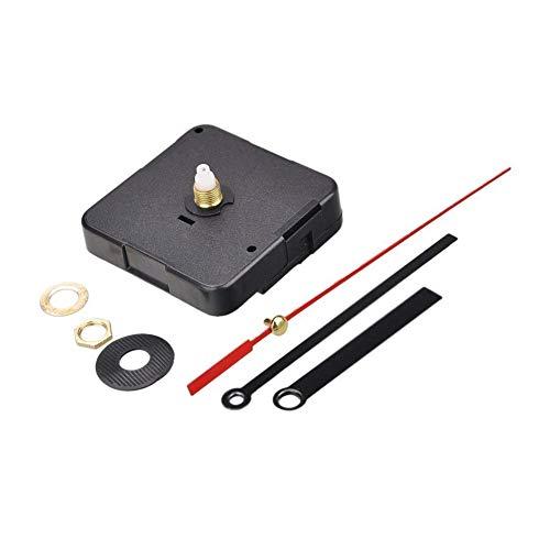 Quarz-Uhrwerk-Mechanismus DIY Ersatzteile Ersatz-Reparatur-Werkzeug-Satz-Installationssatz-Uhr DIY Uhr-Werkzeug-Satz mit Silber Uhr Zeiger Schwarz 1Set