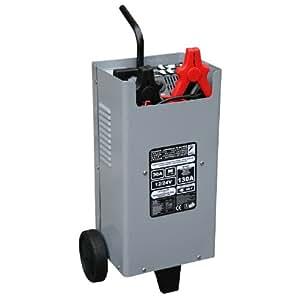 auto7 708980 chargeur d marreur de batterie voiture camion 30a 12 24 volts sur roue. Black Bedroom Furniture Sets. Home Design Ideas