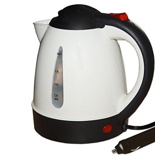 Preisvergleich Produktbild 24V kleiner,  starker 250W Wasserkocher Design weiß ohne Heizspirale 24 Volt