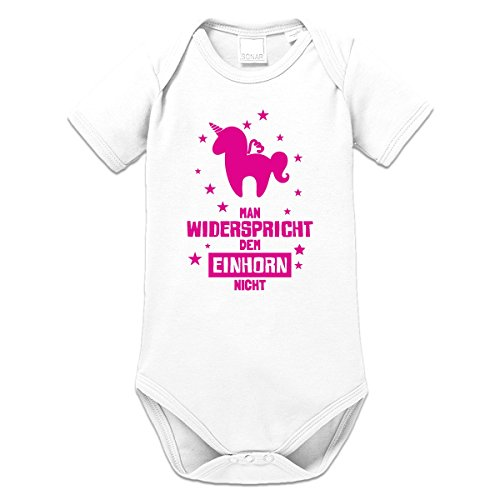 Man widerspricht dem Einhorn nicht Baby Strampler by Shirtcity