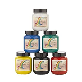 Artcraft Premium Bright Fabric Paints 6 x 60ml Different Colours Available