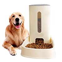 arbitra 3.8L Large Automatic Pet Feeder Capacity Cat Dog Food Bowl