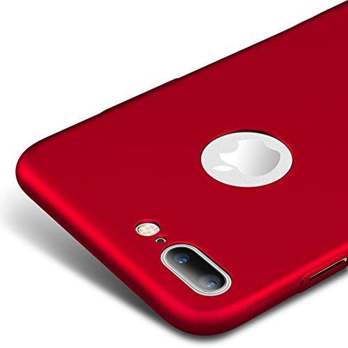 rojo-red-ultra-delgado-funda-case-cover-y-protector-de-pantalla-para-apple-iphone-7-plus-55-pulgadas