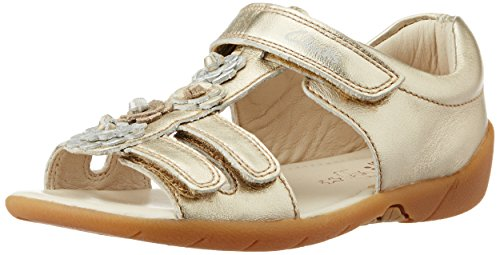 Clarks Girl's Softly Rio Leather Sandal