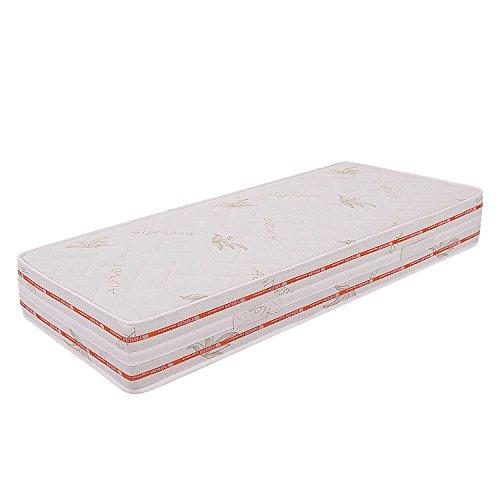 Miasuite-Materasso-fuori-misura-Singolo-in-Memory-Foam-85x195-alto-25-Cm-con-Dispositivo-Medico-ortopedico-e-rivestimento-Aloe-Vera-anallergico-ed-antiacaro-ideale-per-letto-singolo-materasso-in-memor
