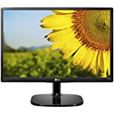 LG 20 inch HD Ready, IPS Panel Monitor with VGA, HDMI Ports - 20MP48HB (Black)