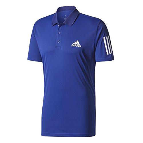 adidas Club Polo Tenis, Hombre, Multicolor (Tinmis / Blanco / Blanco), M