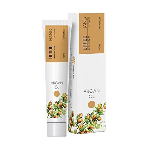 UMIDO Hand-Lotion 45 ml Arganöl - Handcreme – Pflege-Creme – Lotion – Hautpflege - 1 x 45 ml (1.)