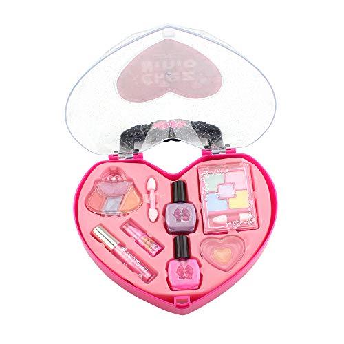 elzeug Make-up Set Praetend Play Mädchen Kosmetik Kit Umwelt Spielzeug Schönheit Sicherheit Spielzeug für Kinder ()