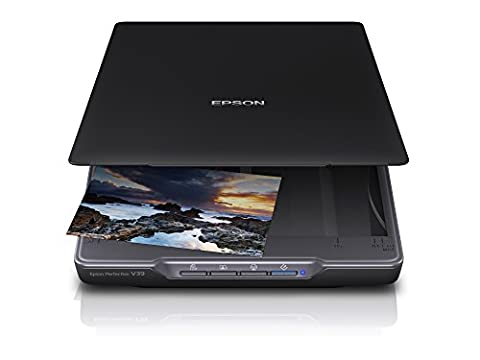 Epson Perfection V39 Scanner (A4, 4800 x 4800 dpi) schwarz (Scanner A4 Lan)