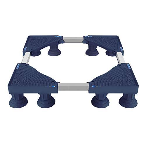 Roller Universal Bases Bracket, Multifunktionale Größenverstellbare Sockel für Waschmaschine (Farbe : Dunkelgrau, größe : 8)