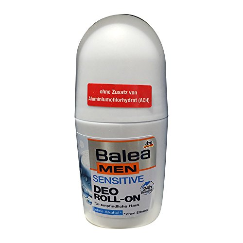 Balea MEN Deo Roll On Deodorant sensitive (50 ml, Flasche)