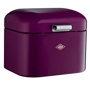 Wesco 235301-36 Aufbewahrungsbox Super Grandy, 22 x 27 x 22 cm, brombeer
