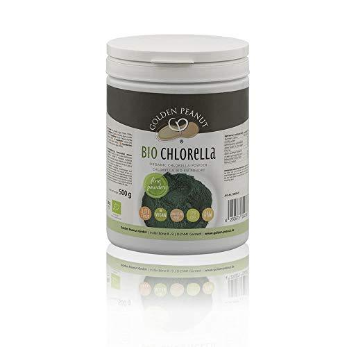 Bio Chlorella Pulver 500g Zellwände aufgebrochen glutenfrei vegan Rohkostqualität