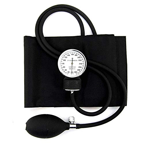 Manuelles Blutdruckmessgerät Professionelles Blutdruck-Kit Blutdruckmessgerät Medizinisches Blutdruckmessgerät für den Oberarm - Manuelle Blutdruck-kit