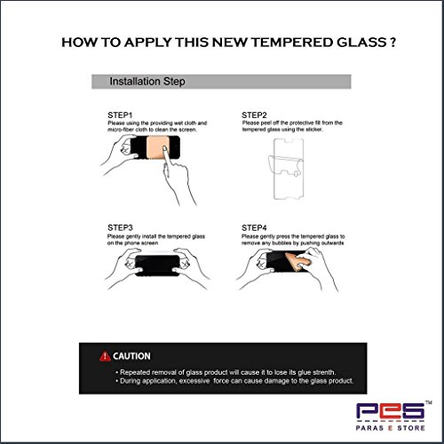 PES 0.3mm Tempered Glass for LG Spirit [Cutout for Proximity Sensor], 0.3mm thickness, 9H Hardness, 2.5D Curved Edge, Reduce Fingerprint, No Rainbow, Bubble Free & Oil Stains Coating with Alcohol wet cloth pad & clean micro fibre Dry cloth,Premium Anti Explosion Tempered Glass Screen Protector for LG Spirit