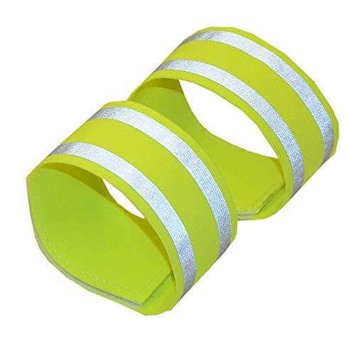 Reflector bandas de 36 cm 1 par   Bandas reflectantes   Bandas reflectantes   Reflectante de luces para brazos, piernas   Brazalete reflectante