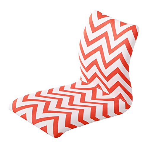 Sitzsäcke Floor Chair Faules Sofa mit Rückenlehne, Home Office Meditation beim Fernsehen (Farbe : Style 2) -