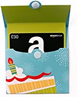 Amazon.co.uk Gift Card - Reveal - £30 (Birthday Pop-Up)