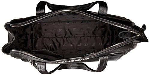 Accesible En Línea Barata Armani Jeans borsa donna a spalla shopping nuova originale nero Nero La Más Nueva oyUHSZXvAM