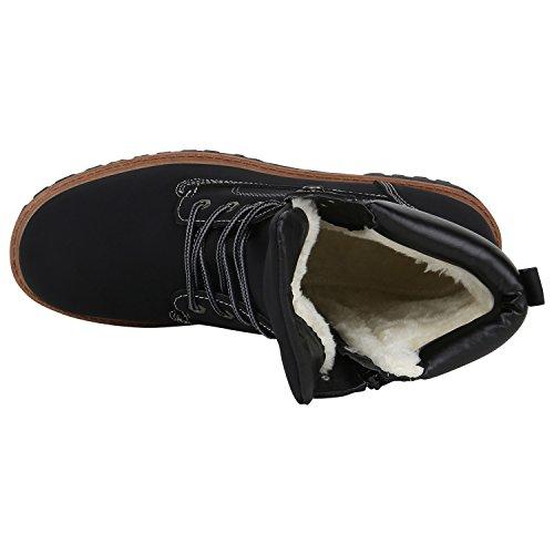 Bootparadise Mens Worker Boots Profilo Sole Stivaletti Imbottiti Scarpe Outdoor Lace-up Suede-ottico Rivetti Camouflage Flandell Nero Carlet
