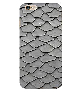 PrintVisa Ceramic Slate Pattern 3D Hard Polycarbonate Designer Back Case Cover for Apple iPhone 6S Plus
