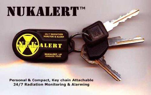 nukalerttm Nuclear Strahlung Detektor/Monitor (Schlüsselanhänger fixierbarem) Alarm (Strahlung Detektor Schlüsselanhänger)