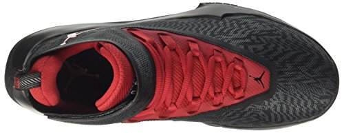 Nike Jordan Fly Illimité, Scarpe Da Panier Uomo Grigio (noir / Gris Loup Gym Rouge-anthracite)