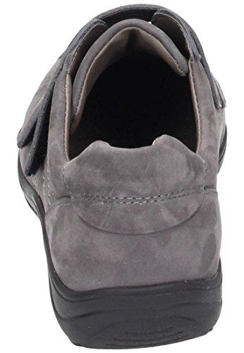 Comfortabel Damen Halbschuhe grau, 941964-9 grau
