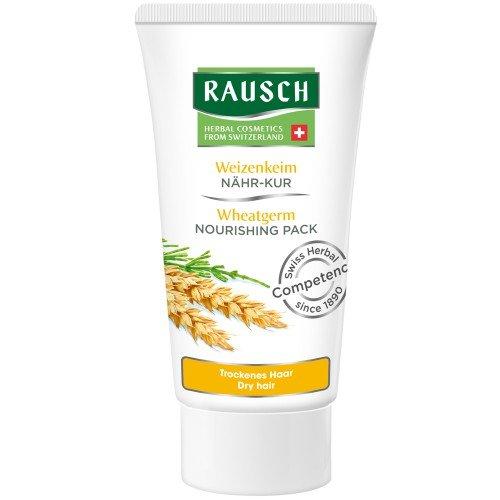 Rausch Weizenkeim Nähr-Kur (dringt tief in die Haarfasern ein und liefert wichtige Nährstoffe für gesundes Haar - Vegan), 4er Pack (4 x 30 ml) (Kräuter Haar-farbe-creme)